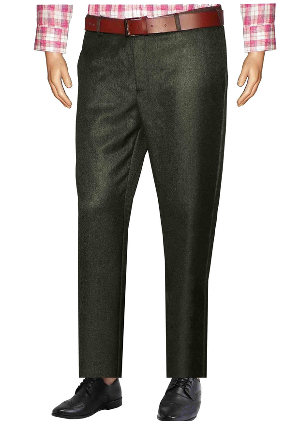 Selects Men's Formal Trouser - Grey (TRO-013) - TheshirtfactoryTrousers Formal