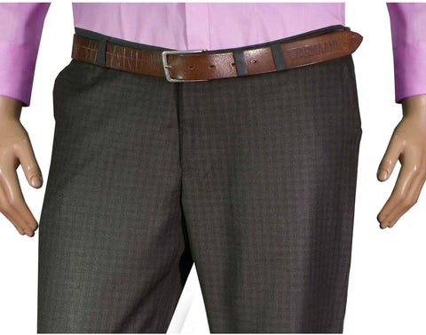 Selects Men's Formal Trouser - Metal Checks (TRO-009) - Theshirtfactory