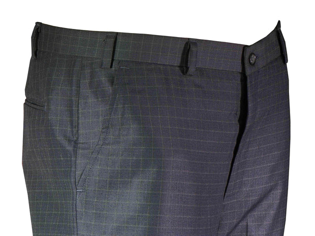 Selects Men's Formal Trouser - Navy Checks (TRO-008) - Theshirtfactory