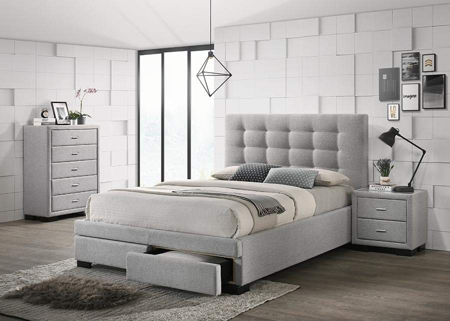 Brooklyn King Frame and King Chiro Rest Mattress