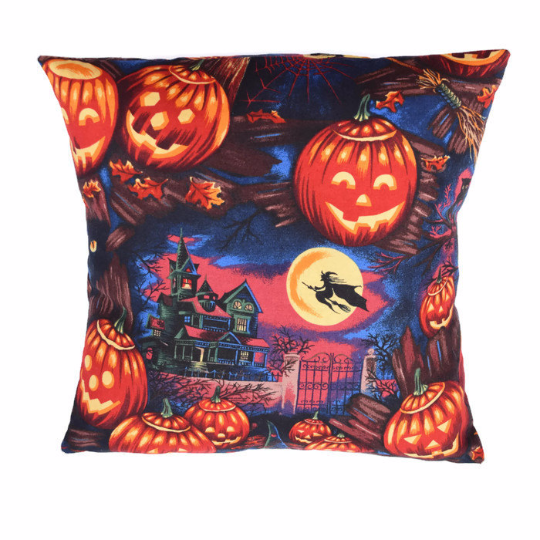 Pumpkins and Witches Pillowcase