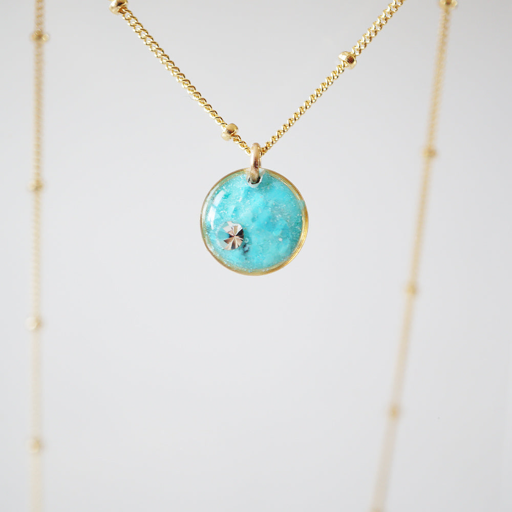 Small Blue Necklace