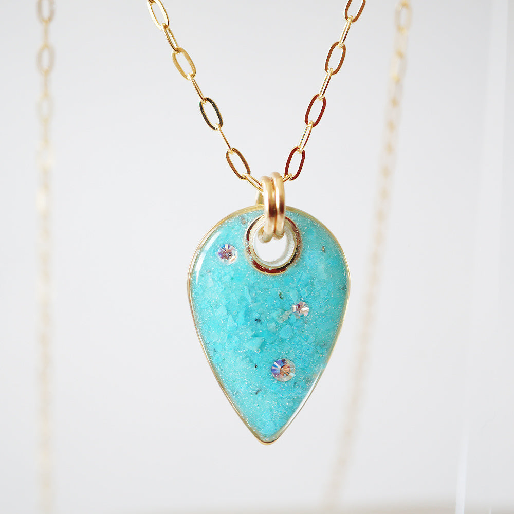 Blue Long Necklace