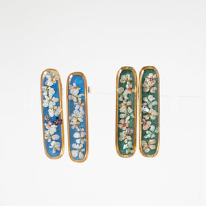 Bar Flower Earrings