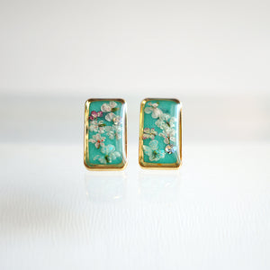 Flower Bar Earrings