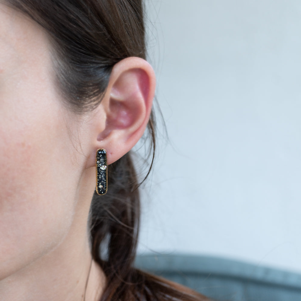 Load image into Gallery viewer, Bar Galaxy Earrings