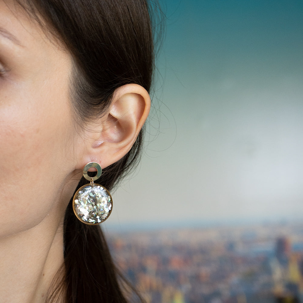 Dangling Statement Earrings