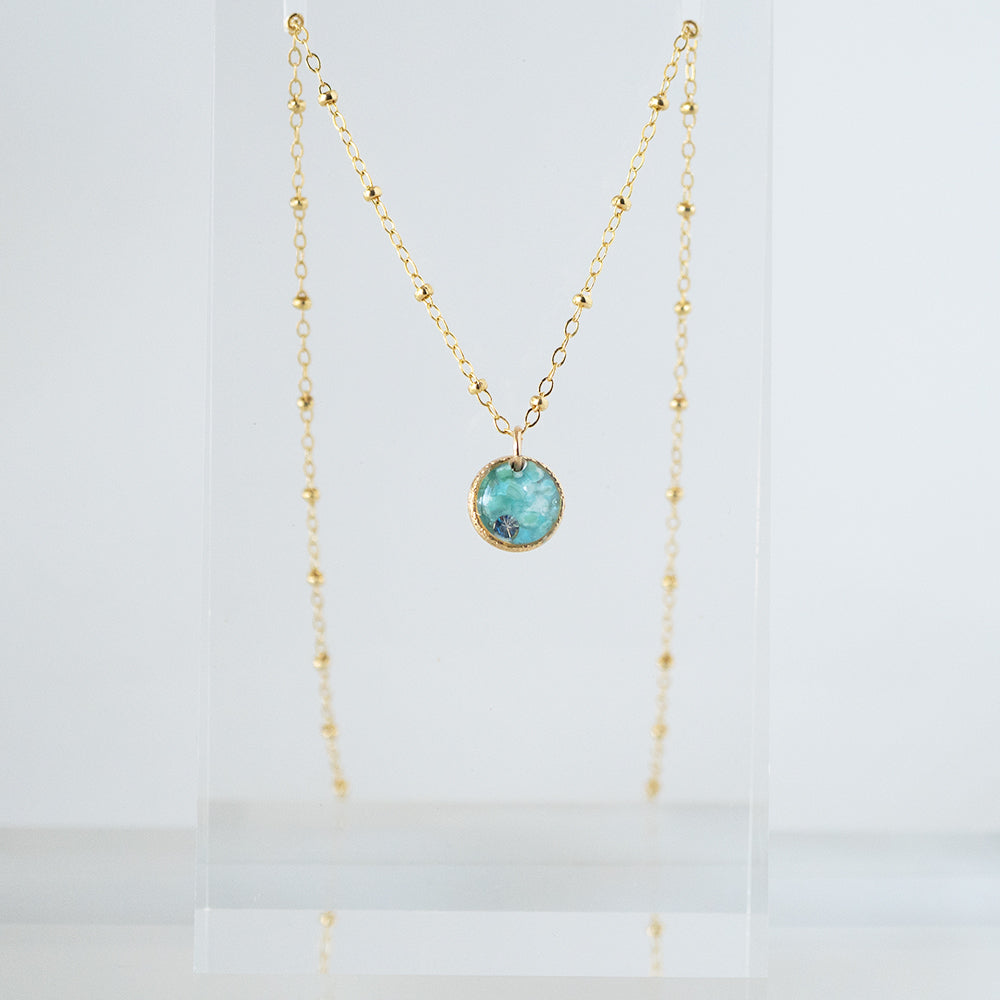 Load image into Gallery viewer, Blue Necklace