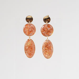 Load image into Gallery viewer, Dangling Rose Earrings