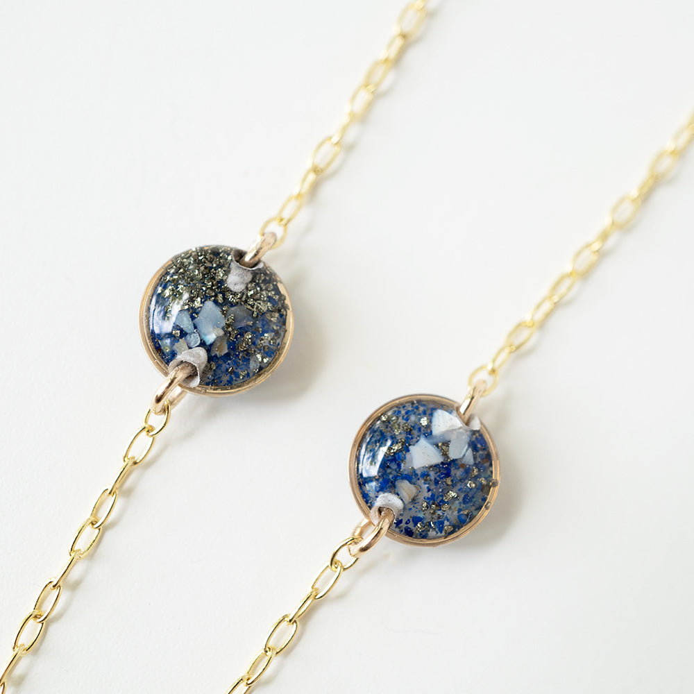 Load image into Gallery viewer, Ocean Multi Pendant Necklace