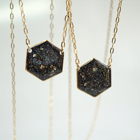 Large Galaxy Necklace