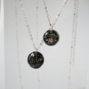 Silver Small Galaxy Necklace