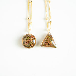 Load image into Gallery viewer, Unakite Dainty Necklace