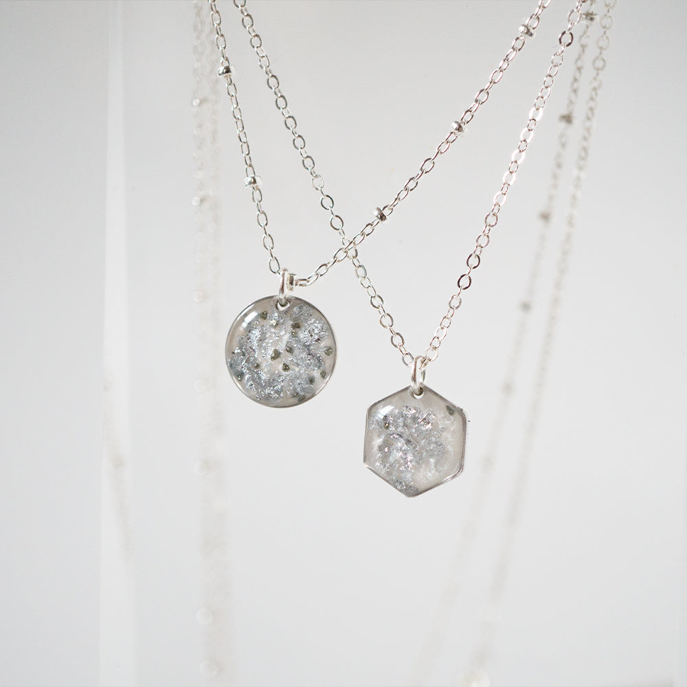 Silver Small Necklace