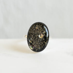 Statement Galaxy Ring in Silver