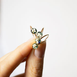 Tiny Flower Turquoise Ring