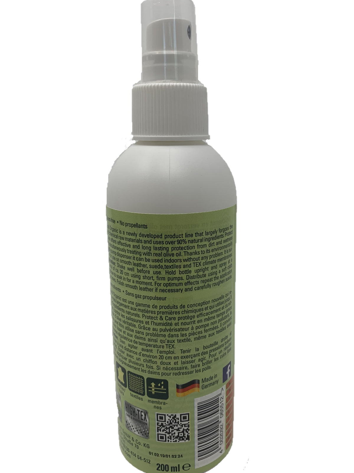 Organic Bamboo Lotion Cleaner 200ml/ 6.76oz