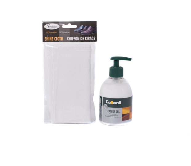 Leather Gel 230ml Plus Application Cloth