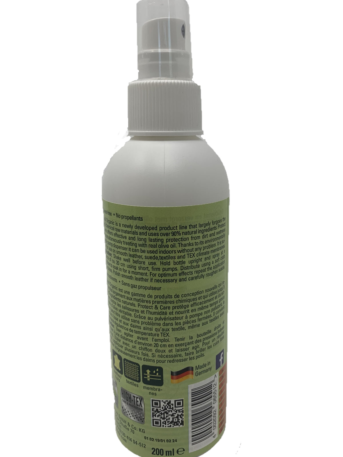 Organic Protect and Care 200ml/6.76 oz