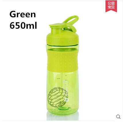 2017 New fashion Protein powder shake sport cup with multi-function bubbling many kinds of fruit juice sport drinking