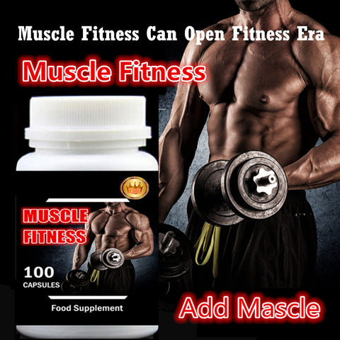 6 bottles Muscle Fitness Fast and Easy Add Muscle  Supplement Free Shipping Whey Protein + Creatine Amazing Effect and Price!