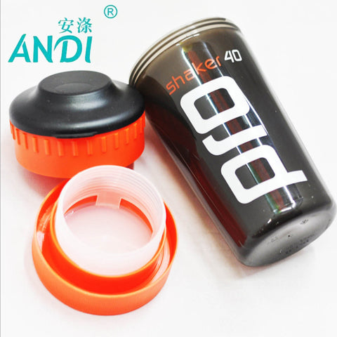 ANDI Shaker Pro 40 Whey Protein Sports nutrition blender mixer fitness gym Shaker For Protein Powder my water bottle 700 ml