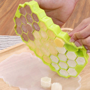 NEW Honeycomb Design Easy Despatch Ice Molds To Create Lovely Mini Ice Cream Cubes