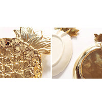 Creative Pineapple Design Ceramic Trays For Your Colorful Dining And Home Decoration Purposes