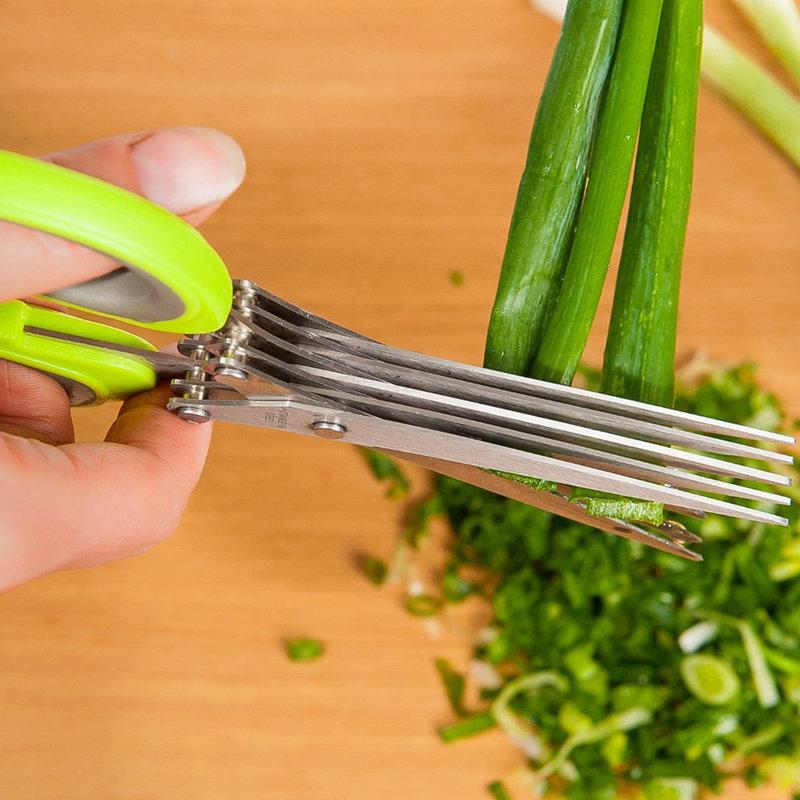 Fast Vegetable Cutting Scissors To Make Your Job Five Times Easier