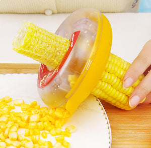 Easy Corn Kernel Remover That Does The Job In Only One Stroke