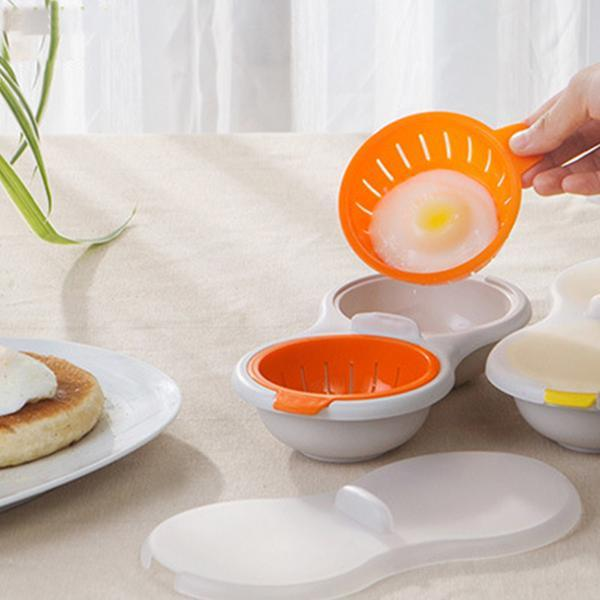 Egg Poacher Cook Poach Pods Egg Tools Microwave Oven Poached Baking Cup Cooking Cool Kitchen Gadgets Coolstuffsales.com -6