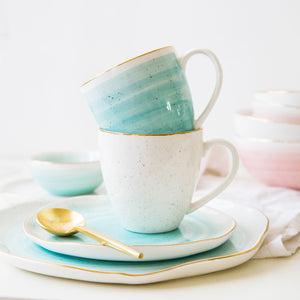 Elegant European Frankfurt Style Ceramic Cups That Will Add Life To Your Tea And Coffee