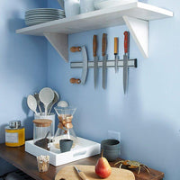 Magnetic Wall Mounted Kitchenware And Knife Strip To Make Your Wall Look Like That Of A Professional Kitchen (14 Inch)