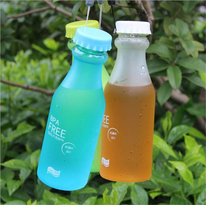 Unbreakable Candy Colored BPA Free Drink Bottle - 550ml