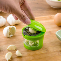 Quick n Easy Garlic, Mushroom and Other Vegetable Chopper and Collector