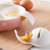 Plastic Egg Yolk White Separator Eco Friendly Food Grade Material Egg Divider Tool Breakfast Egg White Omelette Cakes Candies Cookies Baking Cooking Shakes Cool Kitchen Gadgets Coolstuffsales.com -7