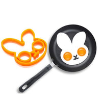 Silicone Egg Rings Breakfast Egg Molds Stencil Pancake Egg Moulds Cooking Tools Kitchen Accessories Cool Kitchen Gadgets Coolstuffsales.com -6