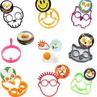 Silicone Egg Rings Breakfast Egg Molds Stencil Pancake Egg Moulds Cooking Tools Kitchen Accessories Cool Kitchen Gadgets Coolstuffsales.com -1