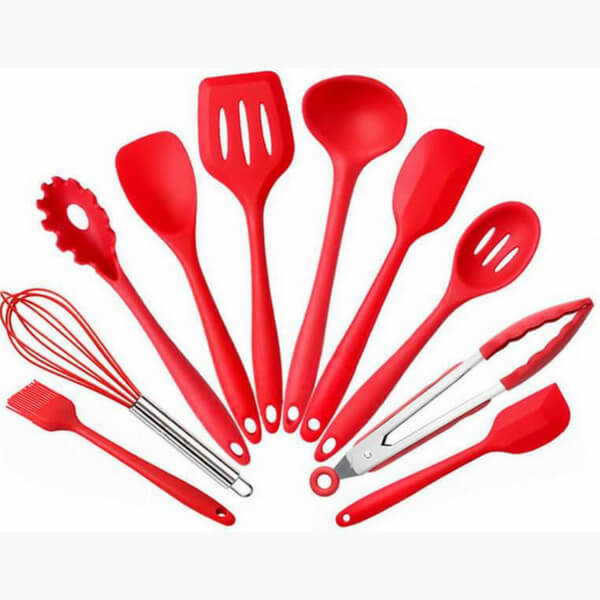 Must Have 10 Piece Silicone Kitchen Utensils Set That Does Majority Of The Jobs In Your Kitchen