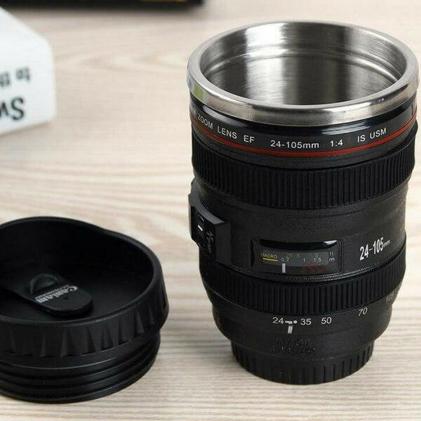 Trendy Camera Lens Mug To Make You Look Artistic and Extremely Cool - 400ml