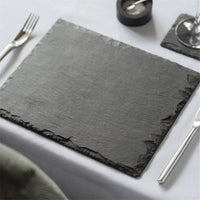 Luxury Natural Square Slate Tray For Beautiful Presentation Of Your Gourmet Foods