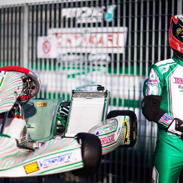 Find out what Marco Ardigò of Tony Kart says about OMP Kartwear