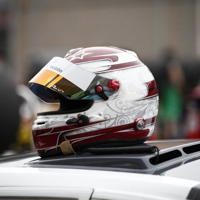 Beautiful NASCAR racing helmet