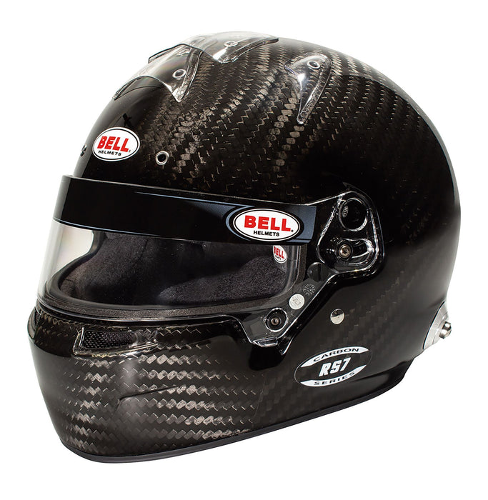 Bell | RS7 Carbon No Duckbill Helmet, FIA 8859-2015 | Snell SA2015 - FAST RACER
