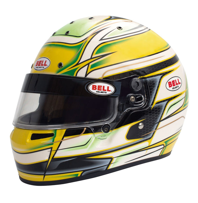 Bell | KC7-CMR Youth Karting Helmet Yellow - Fast Racer