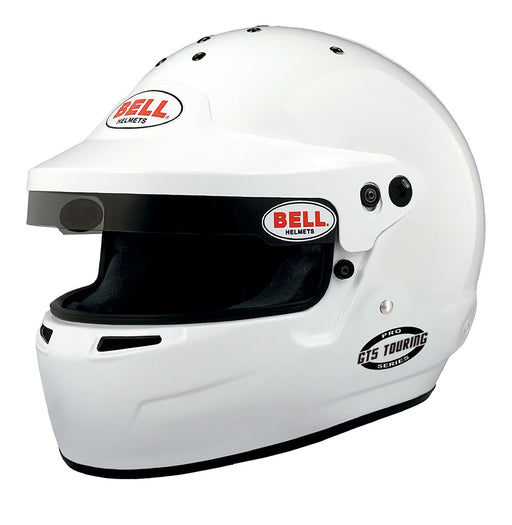 Bell | GT5 Touring Helmet, White With Visor Peak