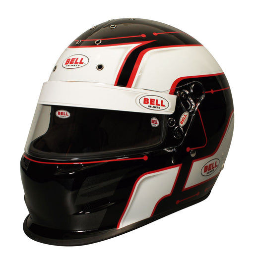 Bell K.1 Pro Circuit Helmet Red with Premium Bag Victory R.1 - Fast Racer
