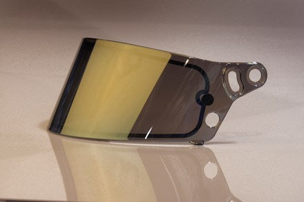 SE03 3mm Replacement Shield / Visor, Gold Mirror / Chrome - Fast Racer