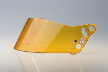 287 SRV Replacement Shield / Visor, Amber - Fast Racer