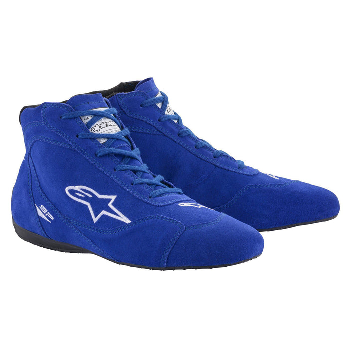 Alpinestars 2021 SP V2 Auto Shoes Racing Shoe Blue - Fast Racer